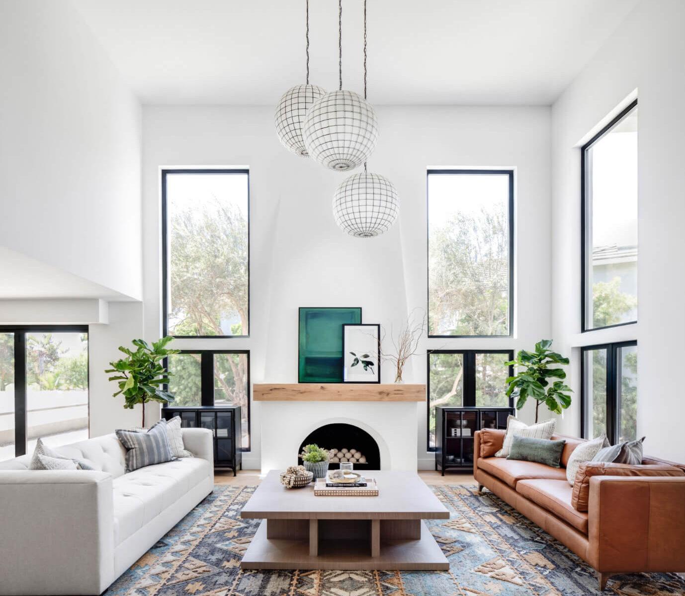 Spanish Modern: Living Room Reveal - Lindye Galloway