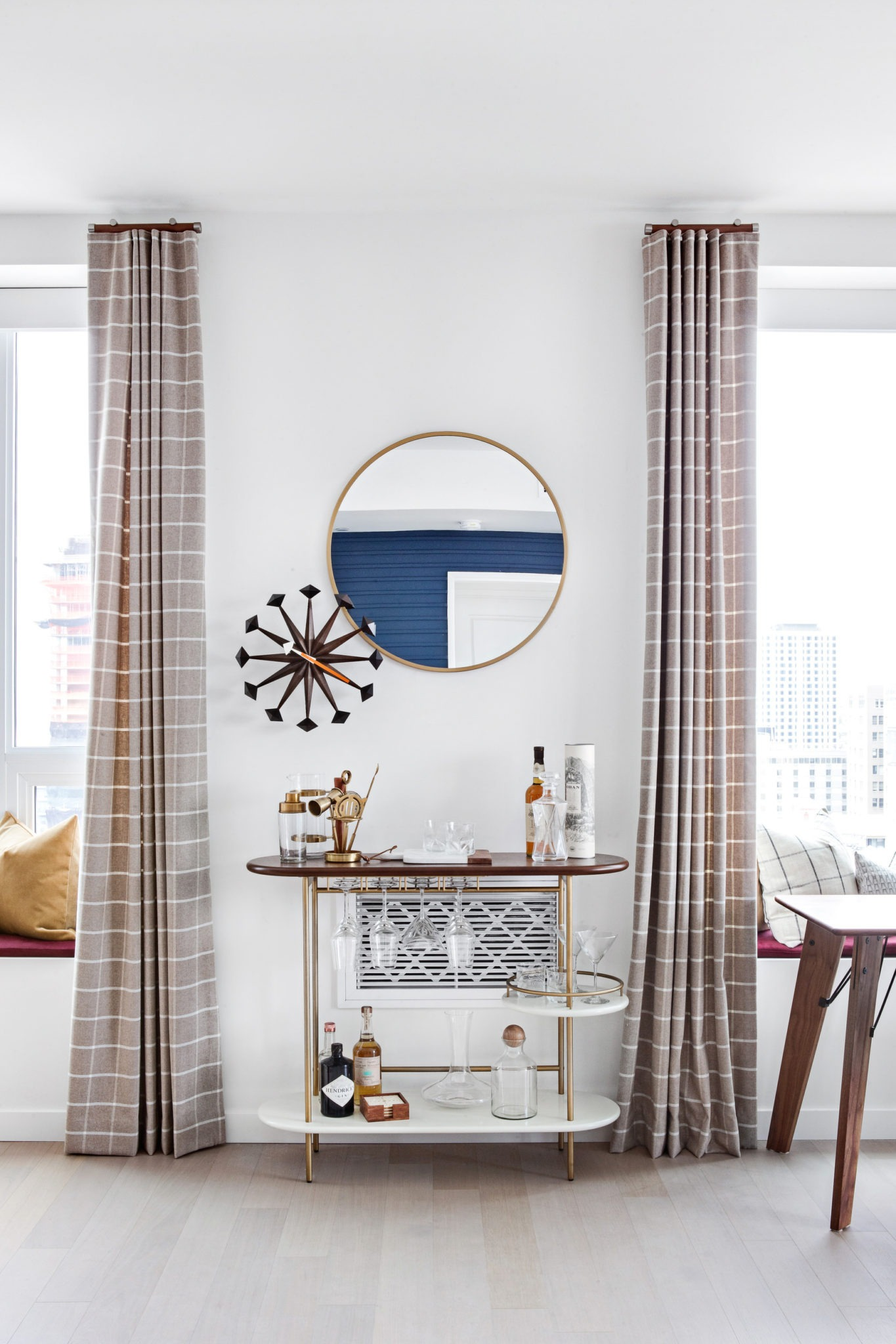 Home Tour: Mad Men Inspired Condo - Lindye Galloway Interiors